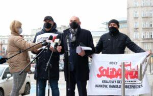 """Read more about the article Konferencja prasowa Krajowej Sekcji Pracowników Handlu NSZZ """"Solidarność"""""""