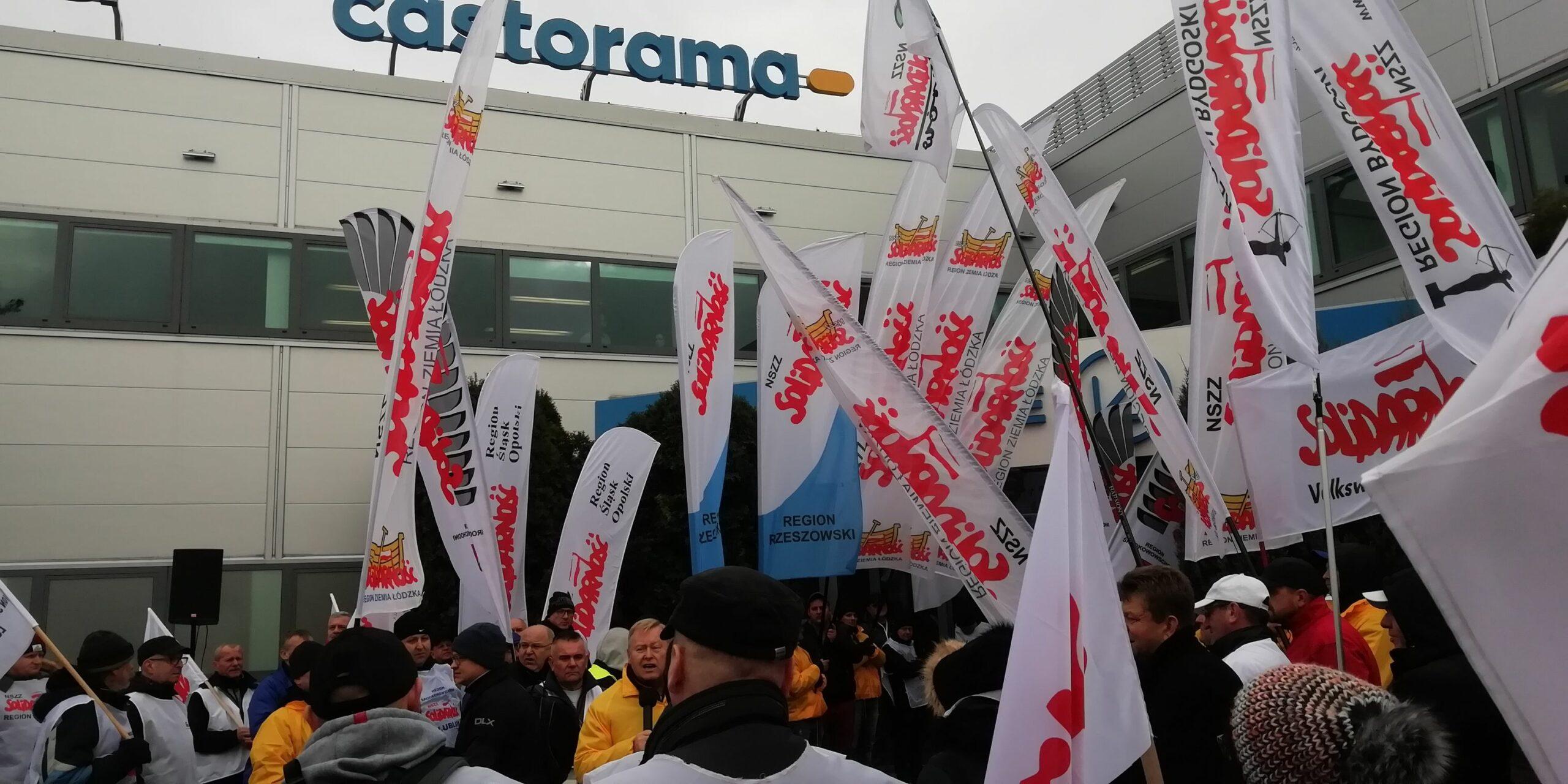 """W. Kasprzyk (""""S"""" w Castoramie): Związki zawodowe nie są popularne w korporacjach."""